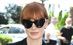 Jessica Chastain, Cannes Film Festival, versace