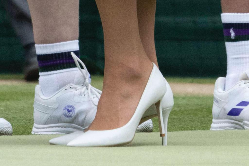 Kate Middleton, Wimbledon, pumps