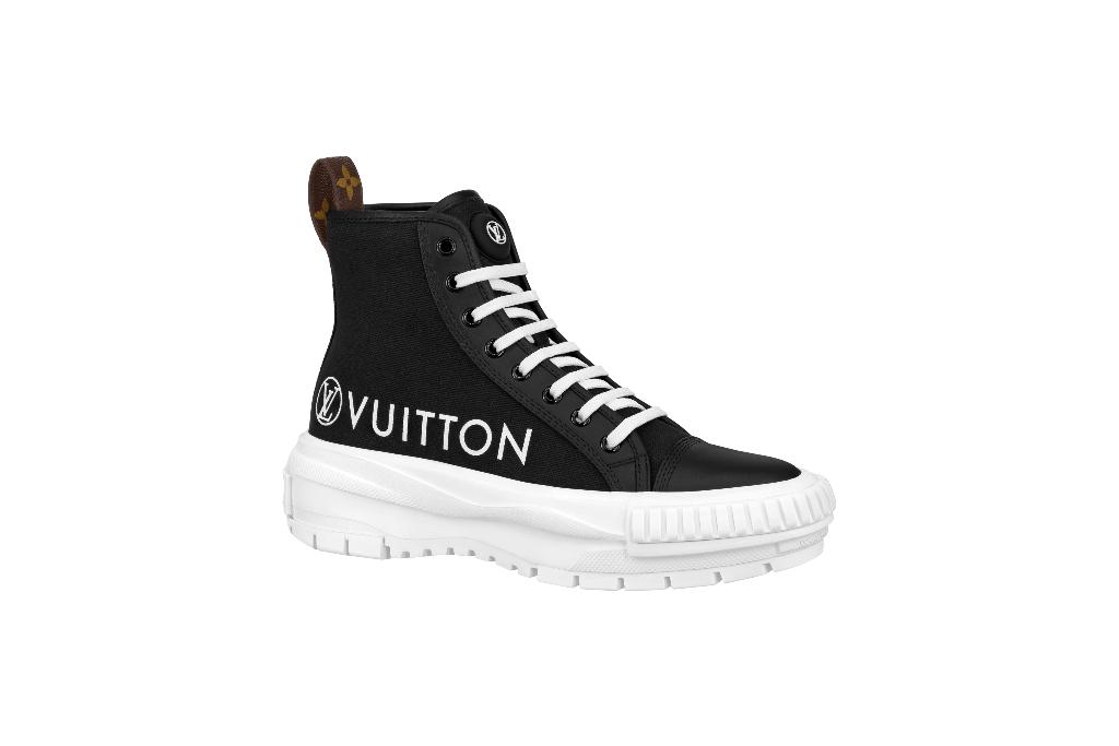Louis Vuitton, LV Squad sneaker boot