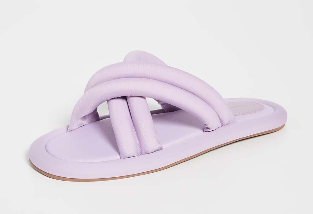 larroude Cali Lycra Sandals