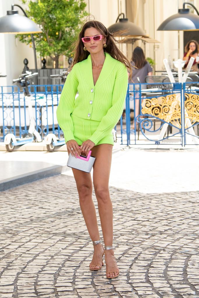 Izabel Goulart is seen at the Martinez Hotel during the 74th annual Cannes Film Festival on July 08, 2021 in Cannes, France. ||. 08 Jul 2021 Pictured: Izabel Goulart. Photo credit: KCS Presse / MEGA TheMegaAgency.com +1 888 505 6342 (Mega Agency TagID: MEGA768733_004.jpg) [Photo via Mega Agency]