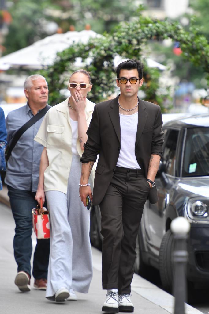 Sophie Turner, Joe Jonas, Paris