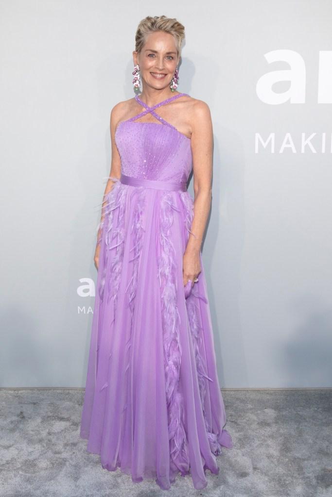 Sharon Stone, Dolce & Gabbana, amFAR Gala