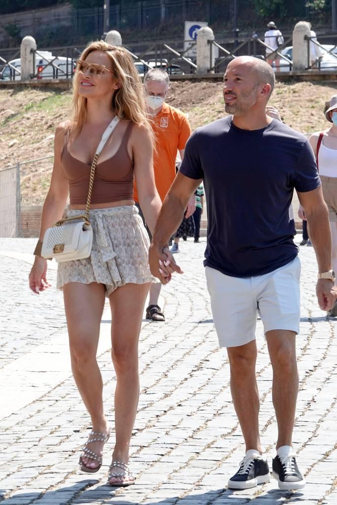 Chrishell Stause, Selling Sunset, Steve Madden, sandals, Chanel, Italy, summer