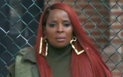 Mary J. Blige, green pants, power,