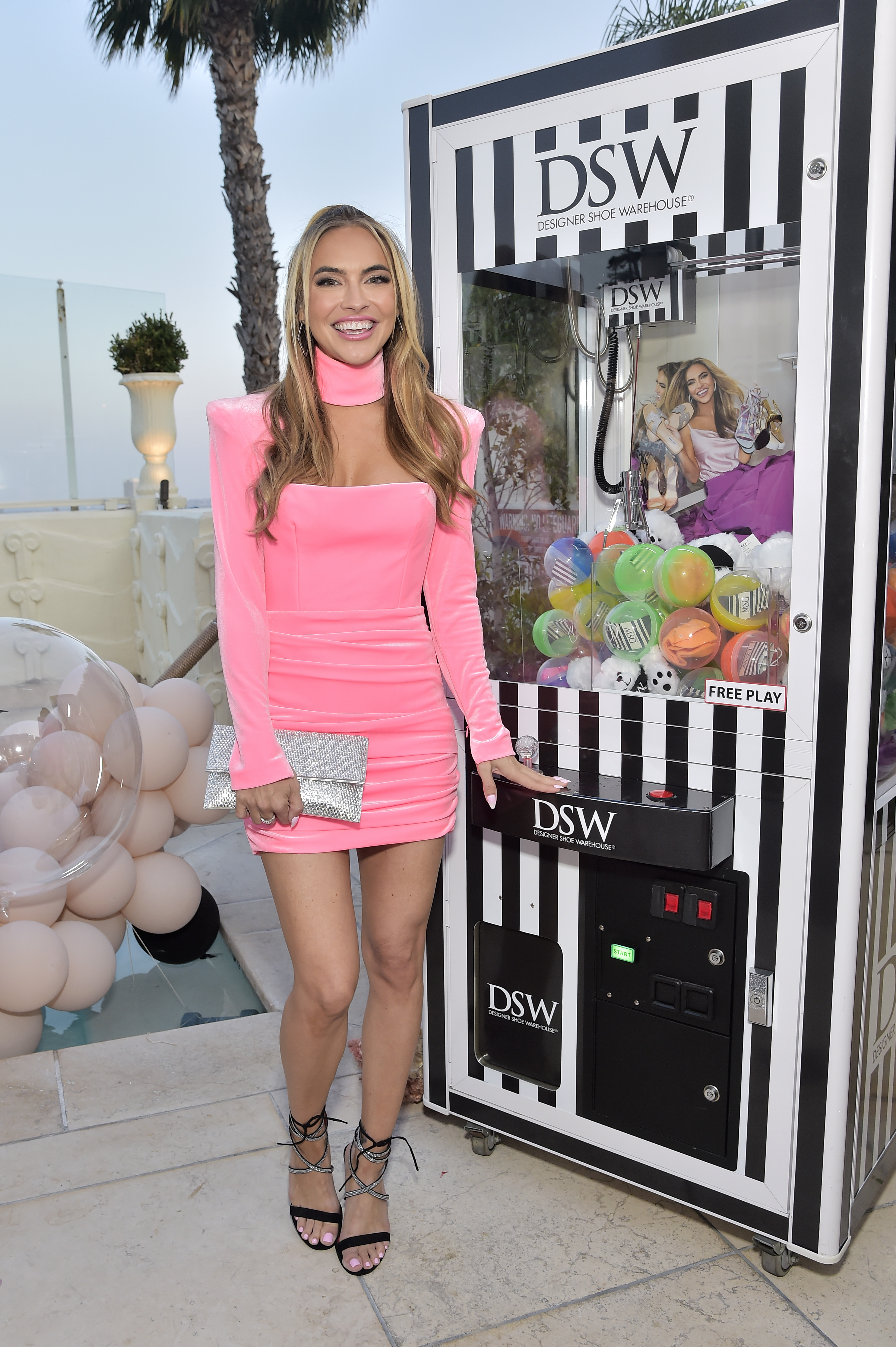 LOS ANGELES, CALIFORNIA - JULY 14: Chrishell Stause attends the celebration of Chrishell Stause's DSW Fun, Flirty Capsule Collection at Sunset Tower Hotel on July 14, 2021 in Los Angeles, California. (Photo by Stefanie Keenan/Getty Images for DSW)