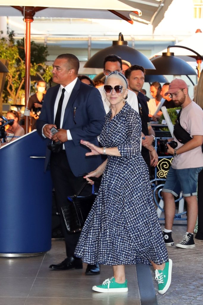 Helen Mirren, Cariuma, Cannes Film Festival, sneakers