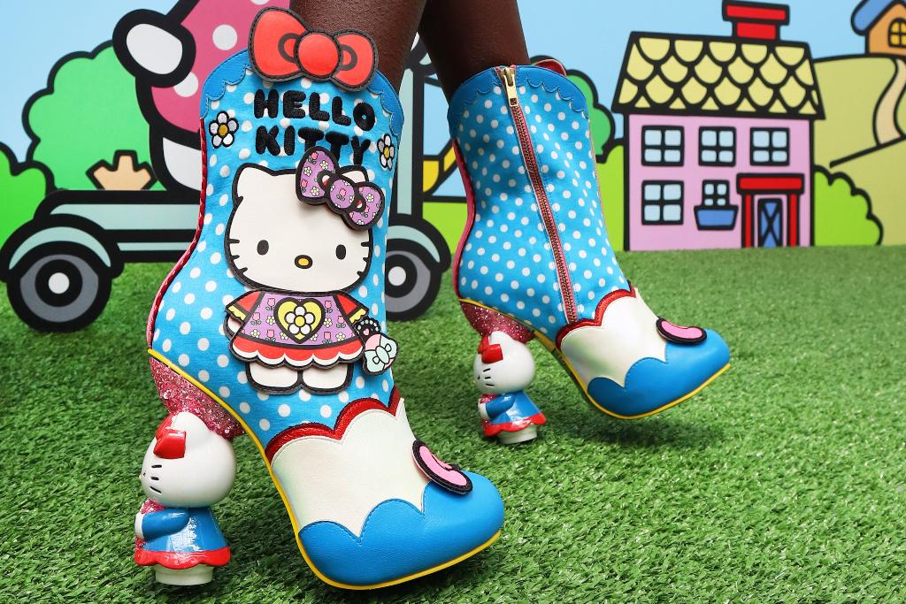 Irregular Choice, Sanrio, Hello Kitty, boots
