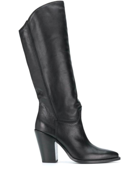 Ash, knee high boots