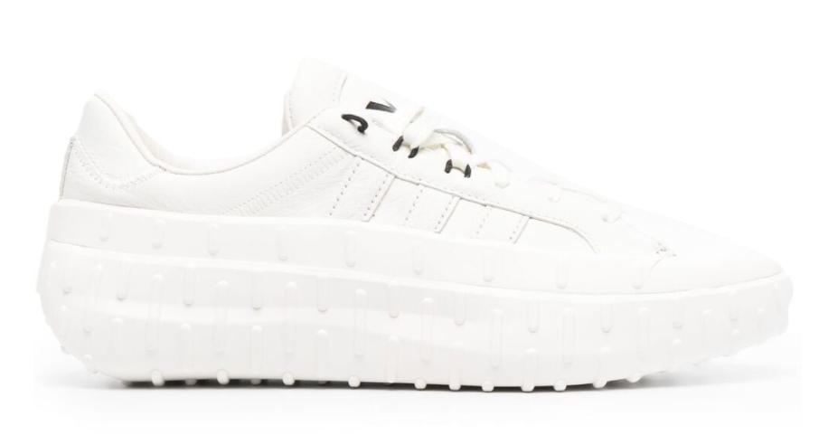 Y-3, sneakers, Y-3 leather low-top sneakers