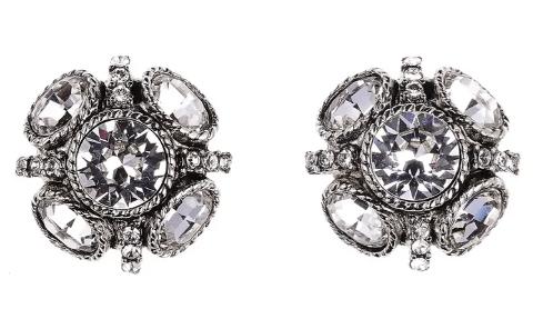 Oscar de la Renta, earrings