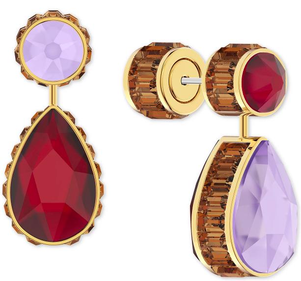 Swarovski, earrings