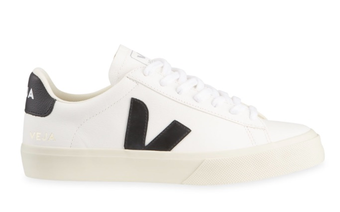 Veja Campo Bicolor Leather Low-Top Sneakers