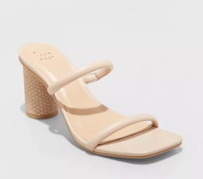 Women's Cass Square Toe Heels