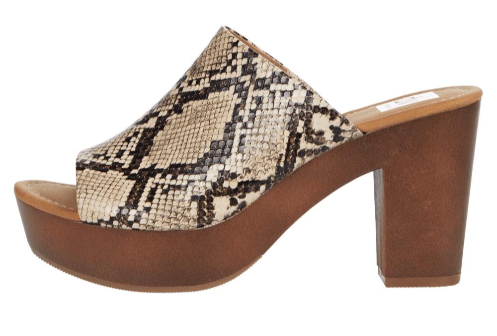Dolce Vita, sandals, snake print