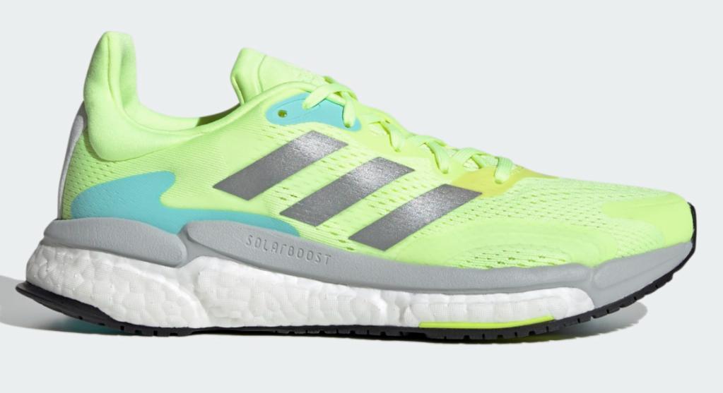 Adidas, sneakers, neon yellow