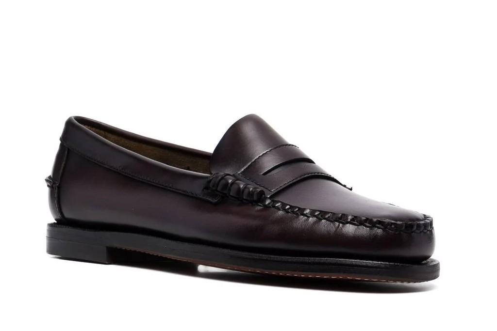 women's loafers, Sebago Almond Toe Slip-On Loafer