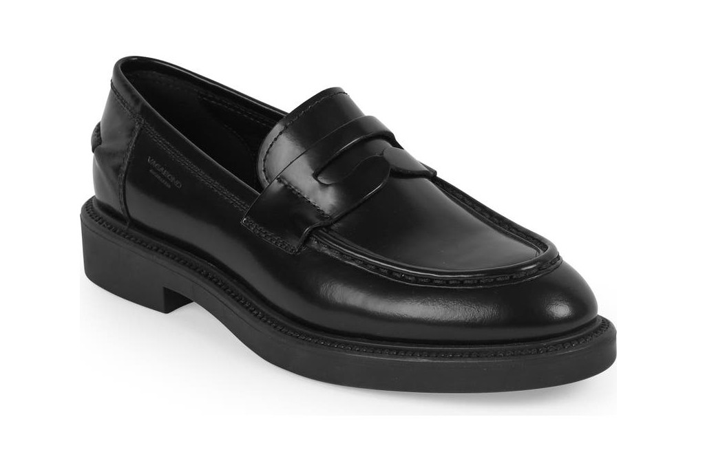 vagabond alex penny loafers, loafers for women