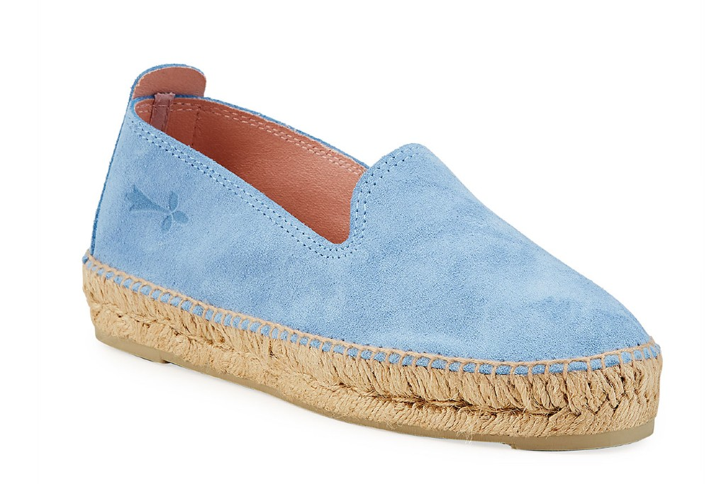 manebi Suede Flat Espadrille Loafers, loafers for women