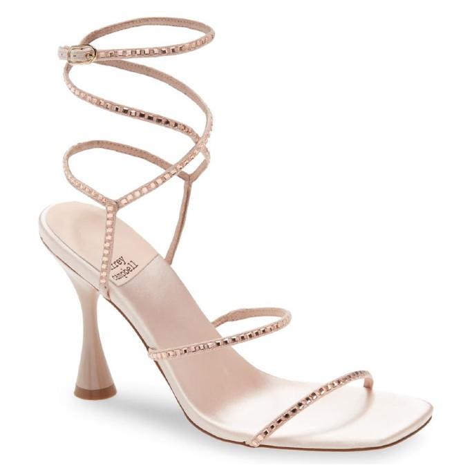 Jeffrey Campbell Glamorous Sandal, affordable wedding heels