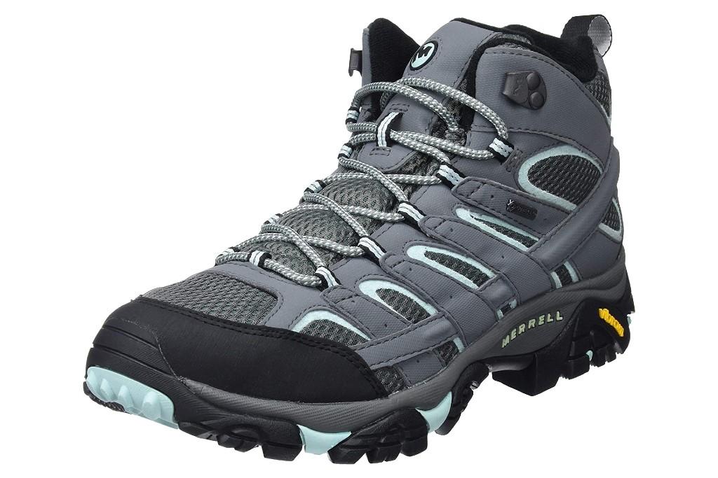 Merrell Women's Moab 2 Mid Gtx Hiking Boot, hiking boots for women