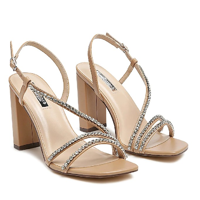 London Rag Raisins Pie Sandal, affordable wedding heels
