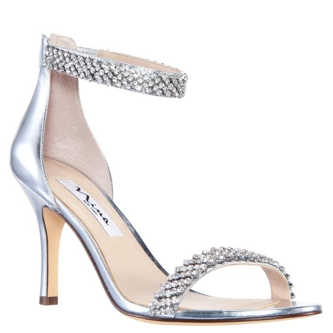 affordable wedding heels, Nina Vauna Sandal