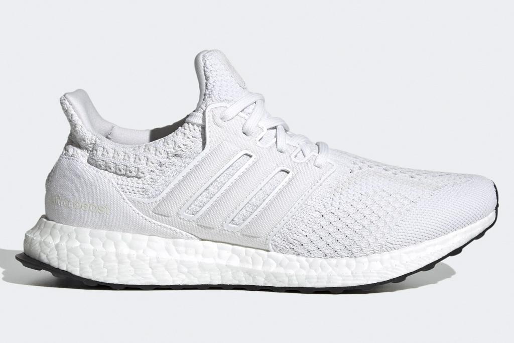 sneakers, white, black, adidas