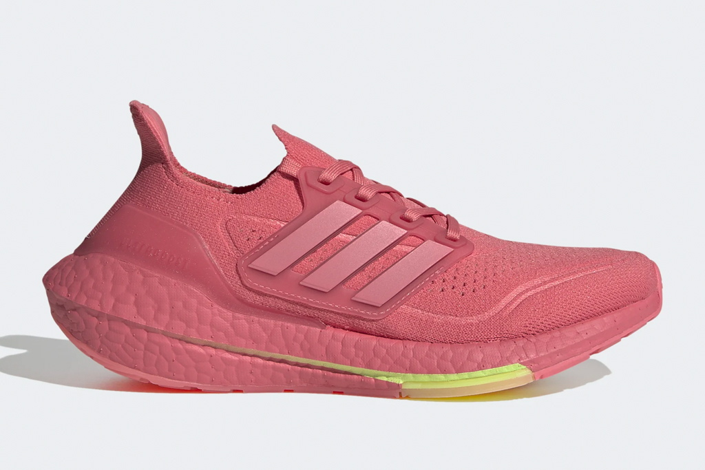 pink sneakers, gym shoes, adidas