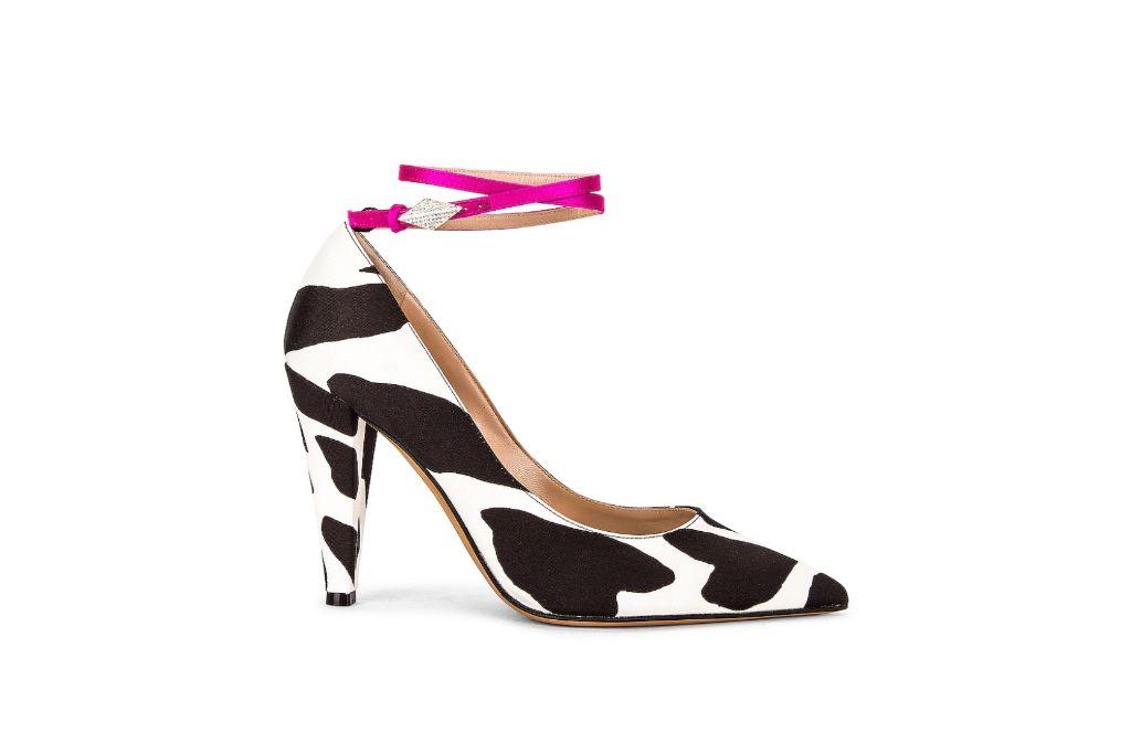 alexandre vauthier, aoki pump, black and white heels
