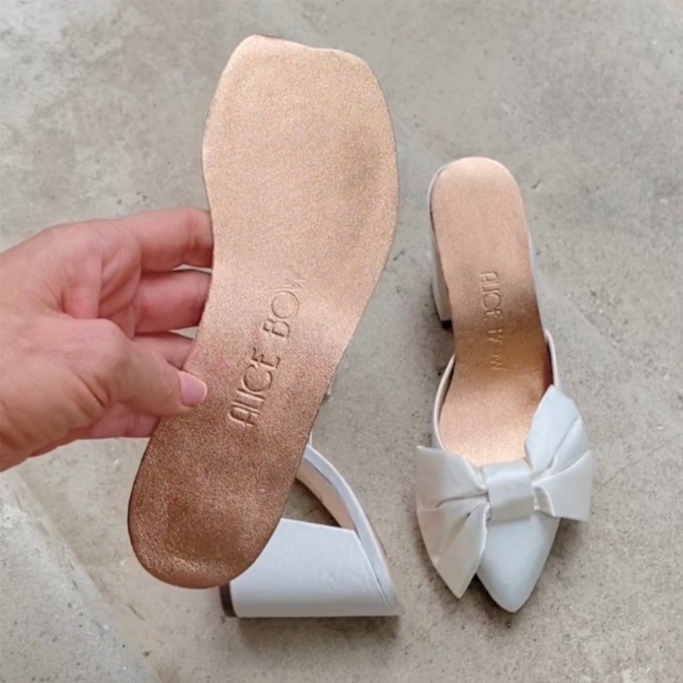 Alice Bow Insoles for High Heels & Flats, how to make heels more comfortable