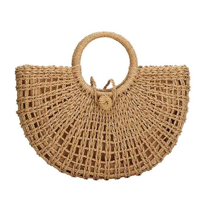 Erouge Natural Chic Straw Bag, best summer handbags
