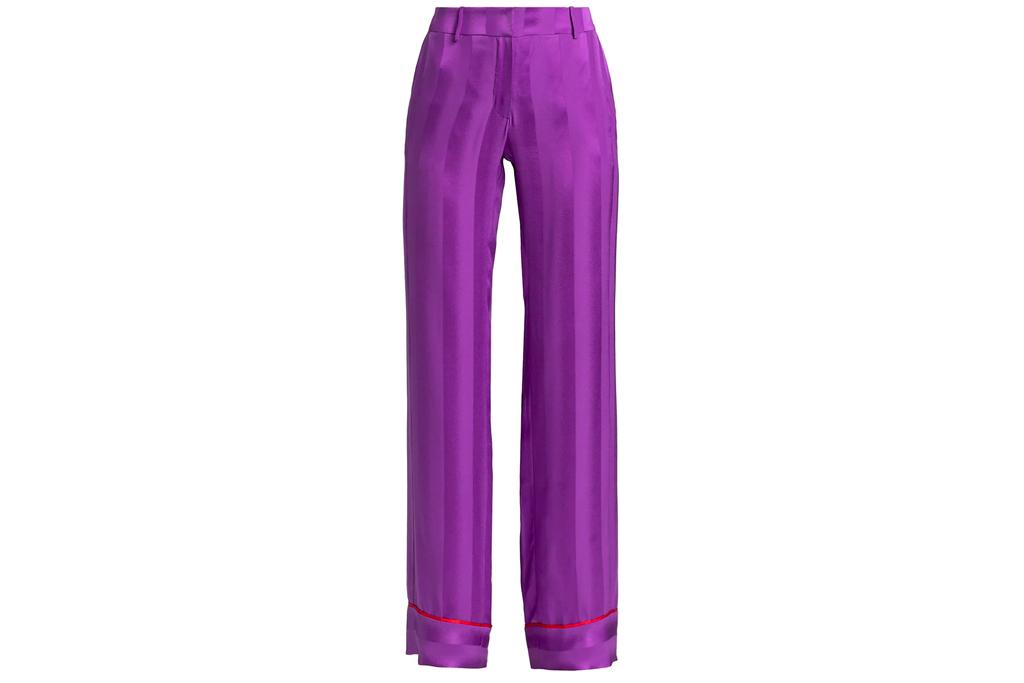 purple pants, adriana iglesias