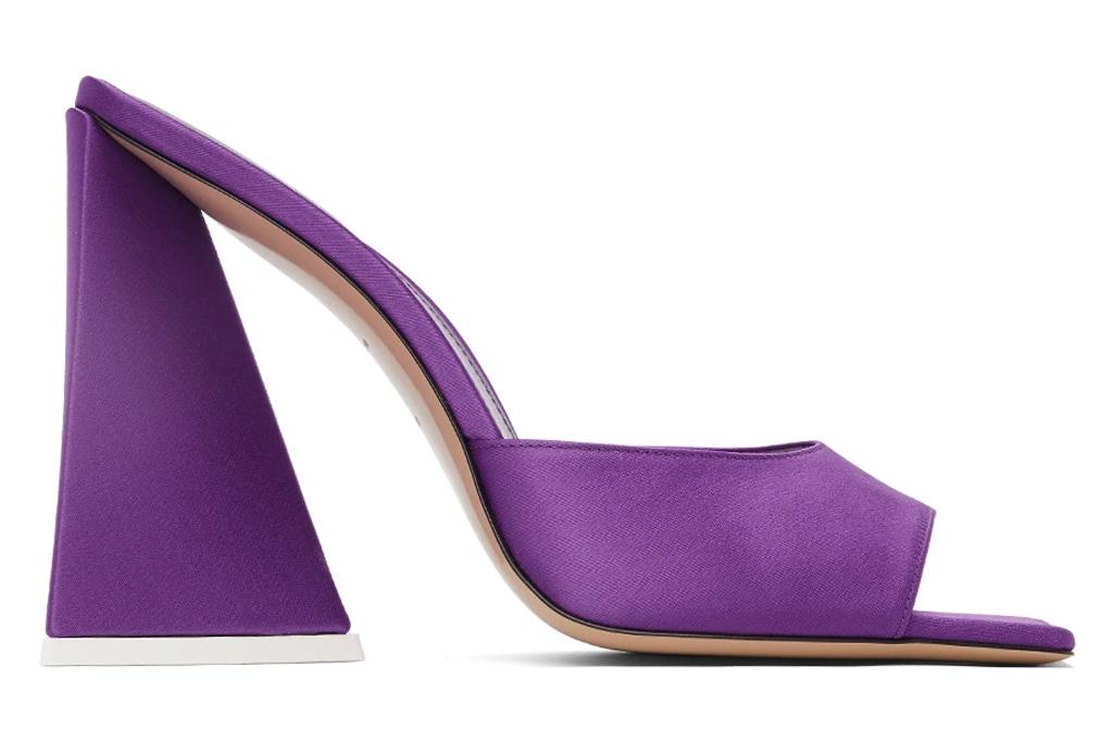 attico, heels, devon, purple