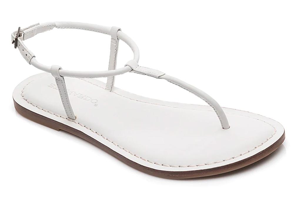 thong sandals, flats, bernardo