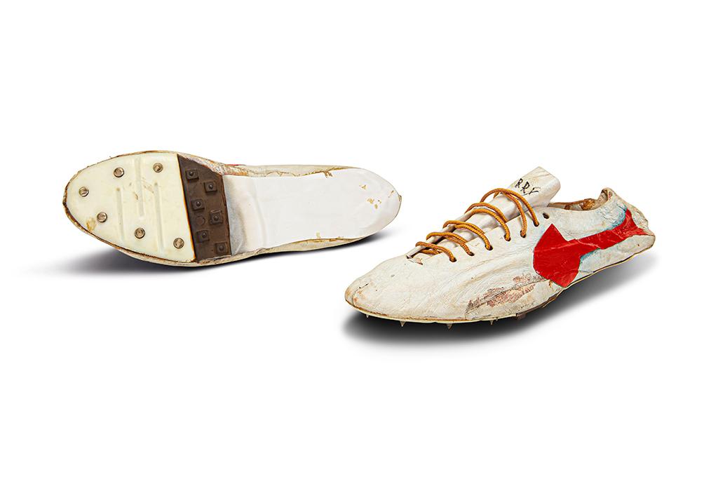 Prototype Logo track spikes handmade Nike Bill Bowerman