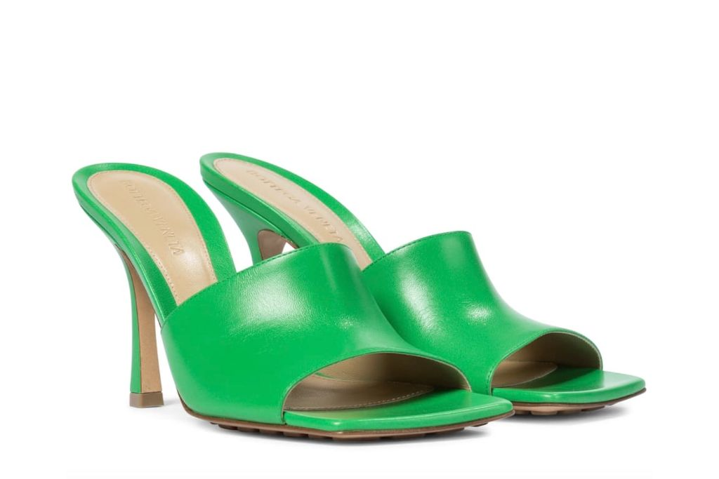 bottega veneta, sandals, square sandals