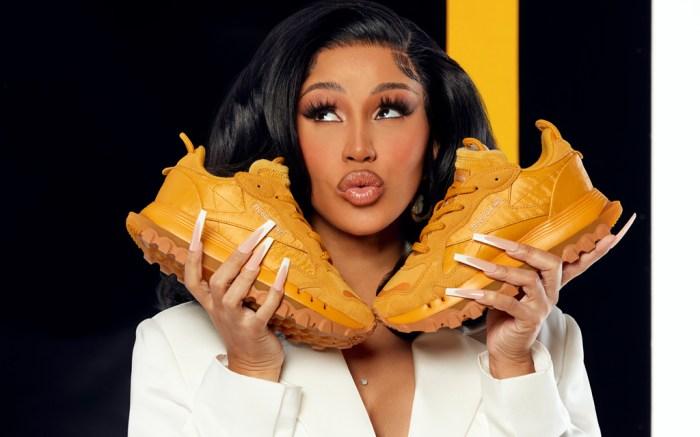 cardi-b-dress-reebok-sneakers