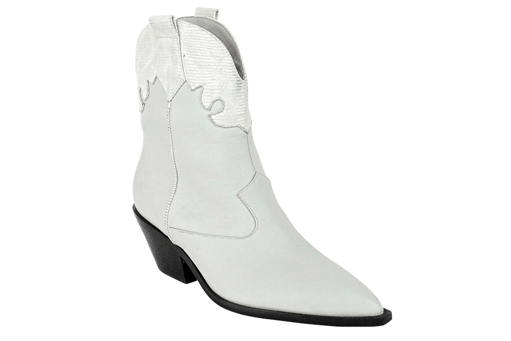 cowboy boots, white boots, caverly