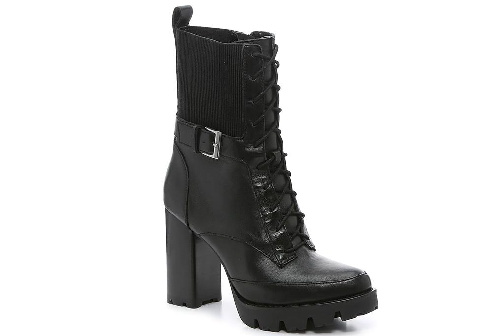 black boots, combat boots, platform, heels, charles david