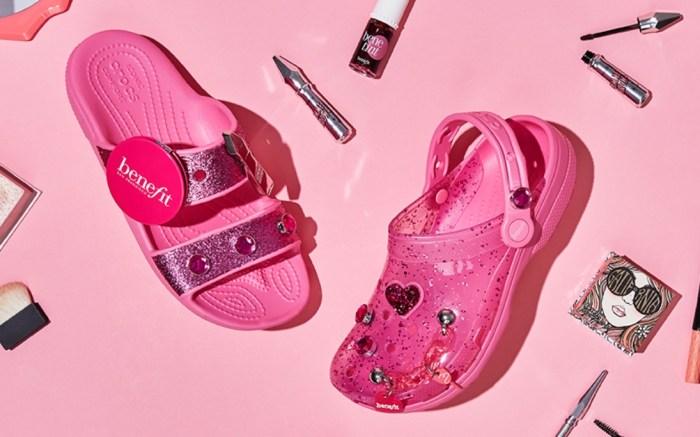 crocs-benefit-cosmetics-collaboration