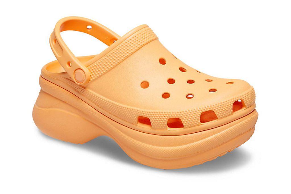 crocs, classic be clog, platform crocs to shop