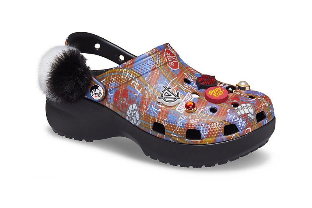 crocs, cruella platform clog, platform crocs to shop