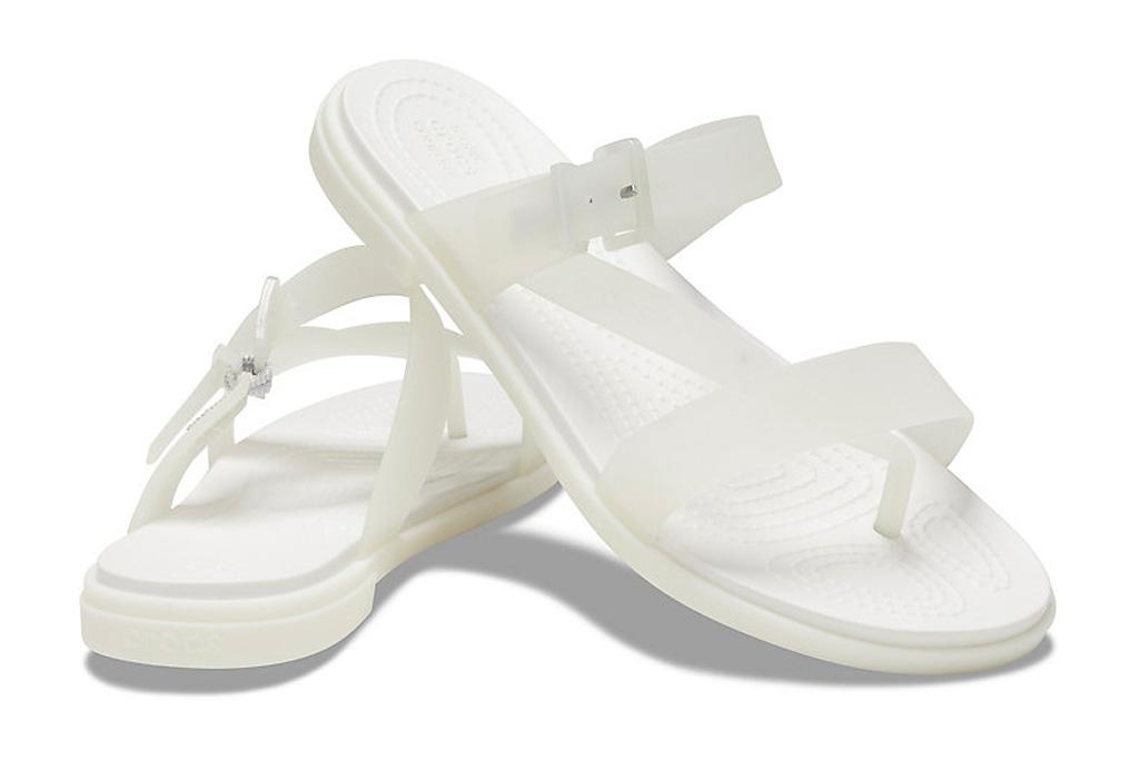 crocs, sandals, pvc, toe post, jelly sandals