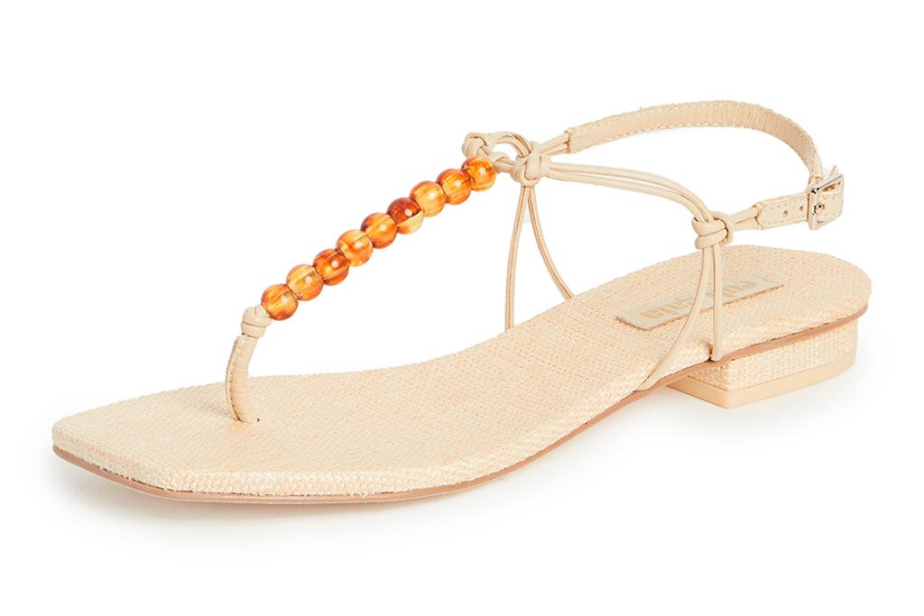 thong sandals, flats, cult gaia