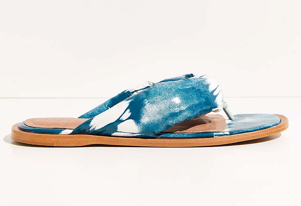 Puffy Thong Sandals