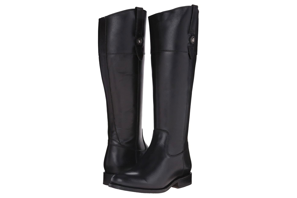 black boots, riding boots, frye