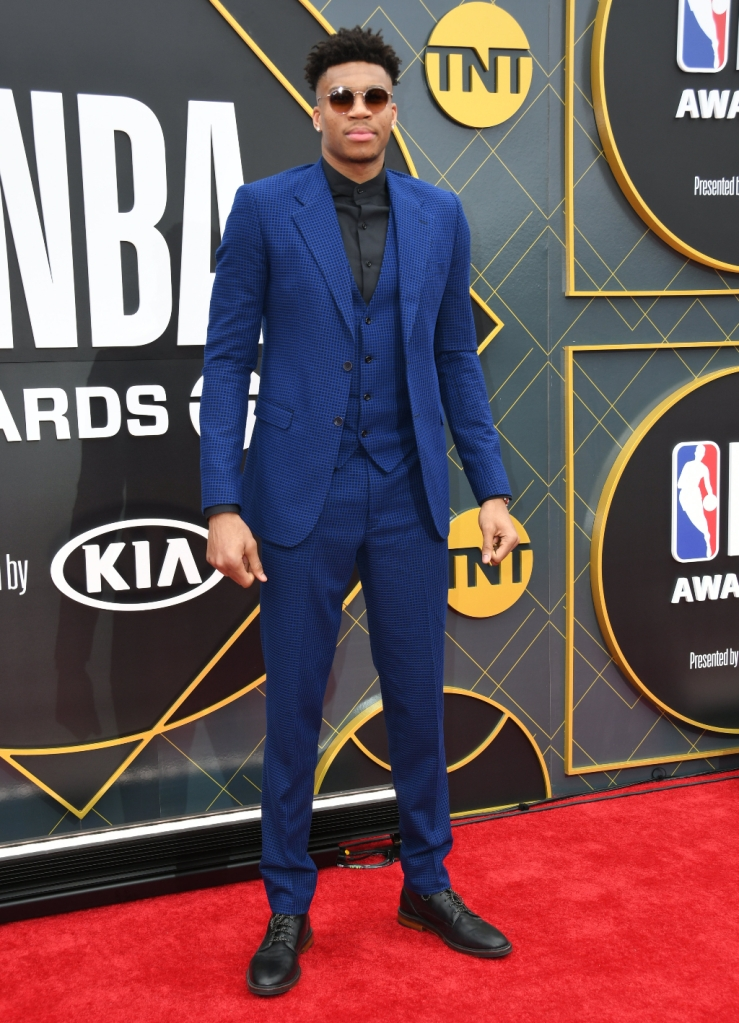 Giannis Antetokounmpo, costume, 2019 NBA Awards