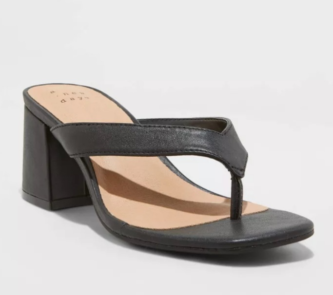 Hazel heel thong sandal, best Target heels