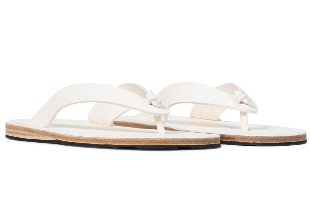thong sandals, flats, jil sander
